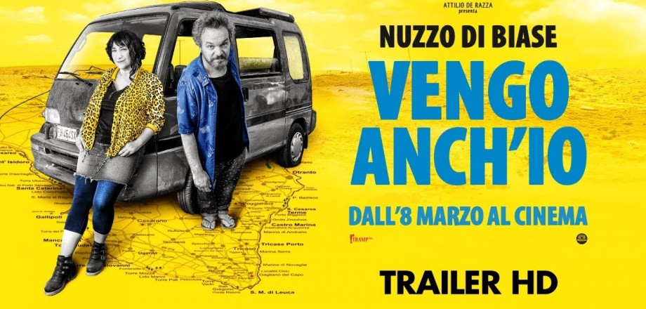 "In theaters, new film by Nuzzo e Di Biase ""Vengo anch'io"", for which we dealt with locations and casting figurations"