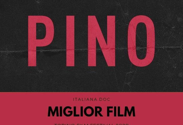 PINO won at the Torino Film Festival 38° as best film in Italiana.doc